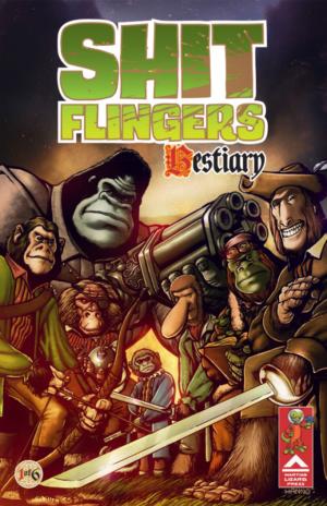 Shit Flingers #1 Cover