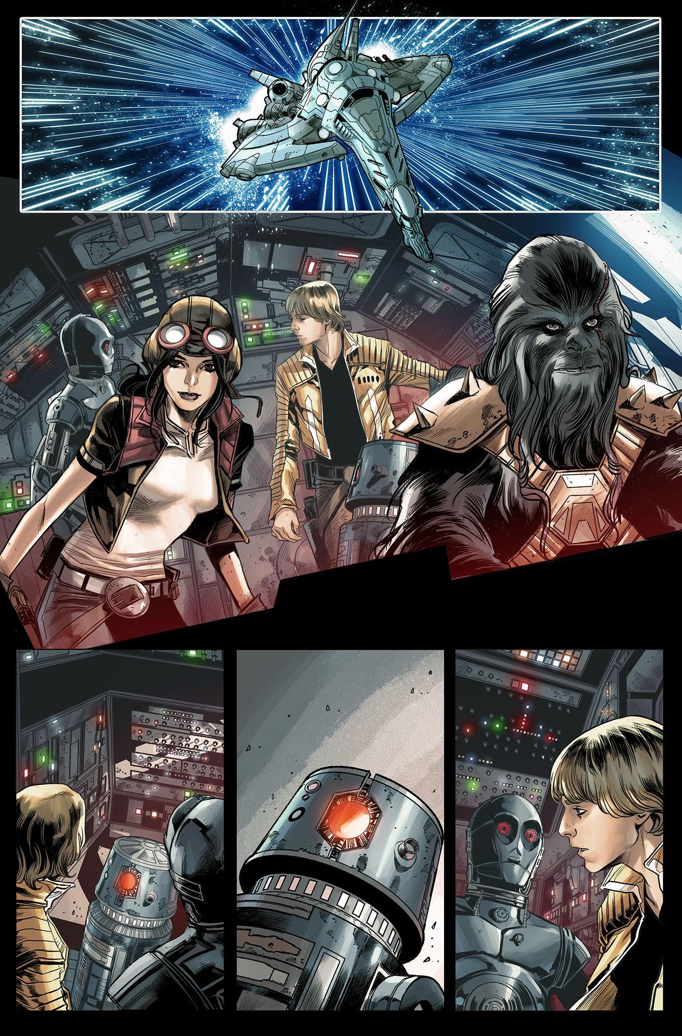 star wars the screaming citadel preview first comics