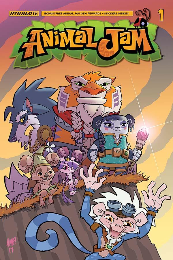 Animal Jam #1 preview - First Comics News