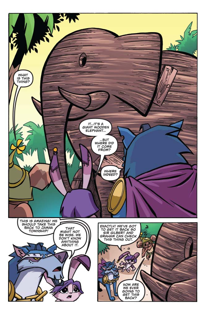 Animal Jam 1 Preview First Comics News