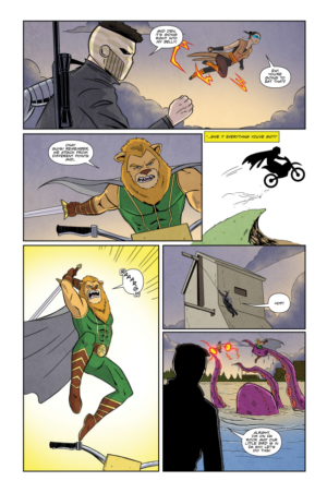 Auric Mini-Issue #3 Interiour Page