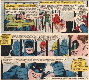 Batman, comics, Justice League