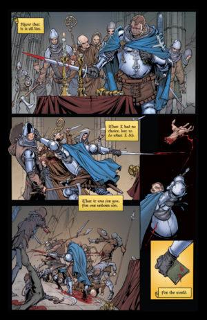 Pestilence #1 Interior Page