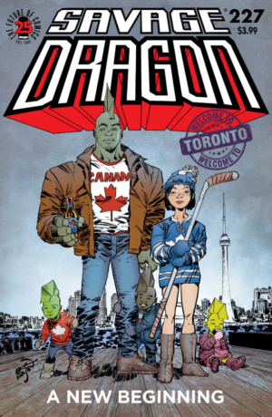 Savage Dragon 227 Cover