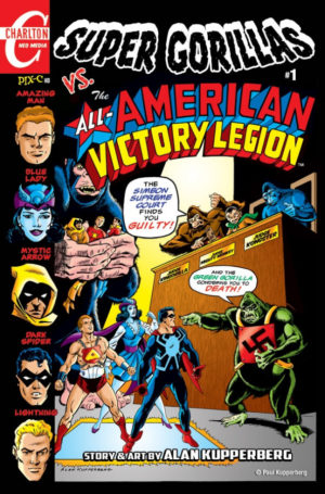 Super Gorillas vs. All-American Victory Legion Cover