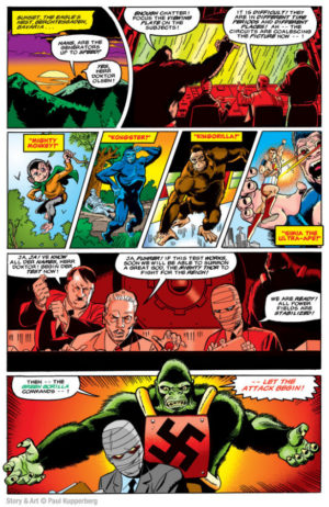 Super Gorillas vs. All-American Victory Legion Interior Page
