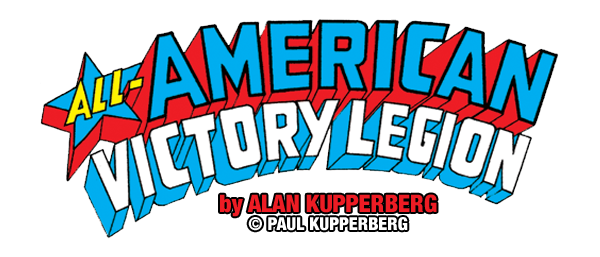 Super Gorillas vs. All-American Victory Legion Logo