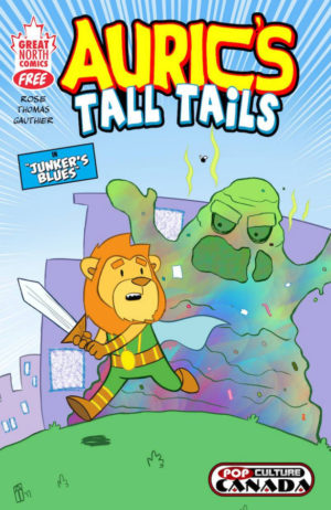 Auric's Tall Tails Cover