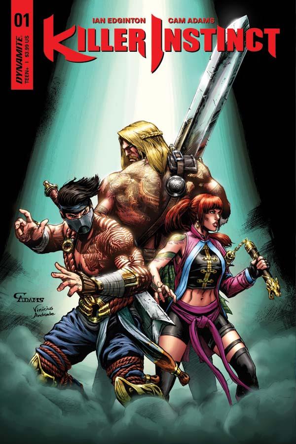 Dynamite Brings Killer Instinct To Comics First Comics News