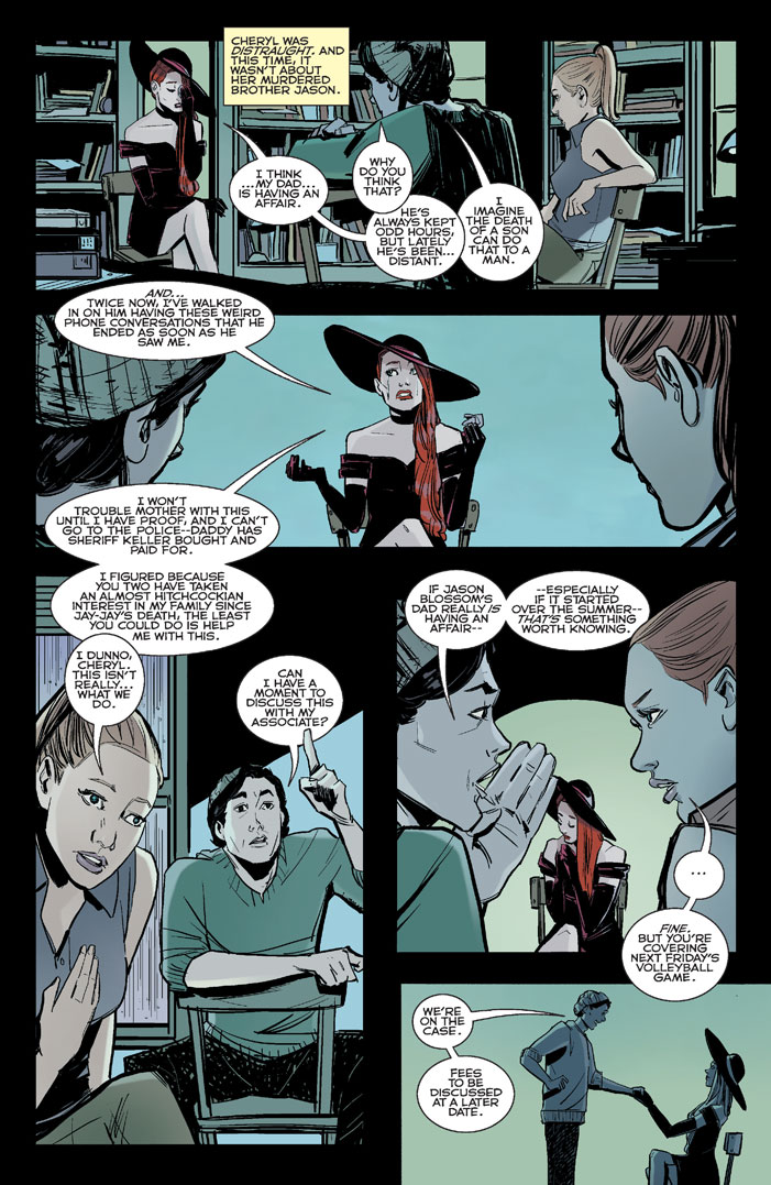 Riverdale 3 Preview First Comics News