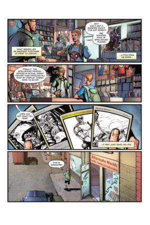 Spellbound #1 Interior Page