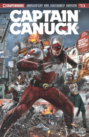 Captain Canuck Season 3 #1 Cover