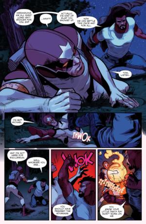 Captain Canuck Season 3 #1 Interior Page
