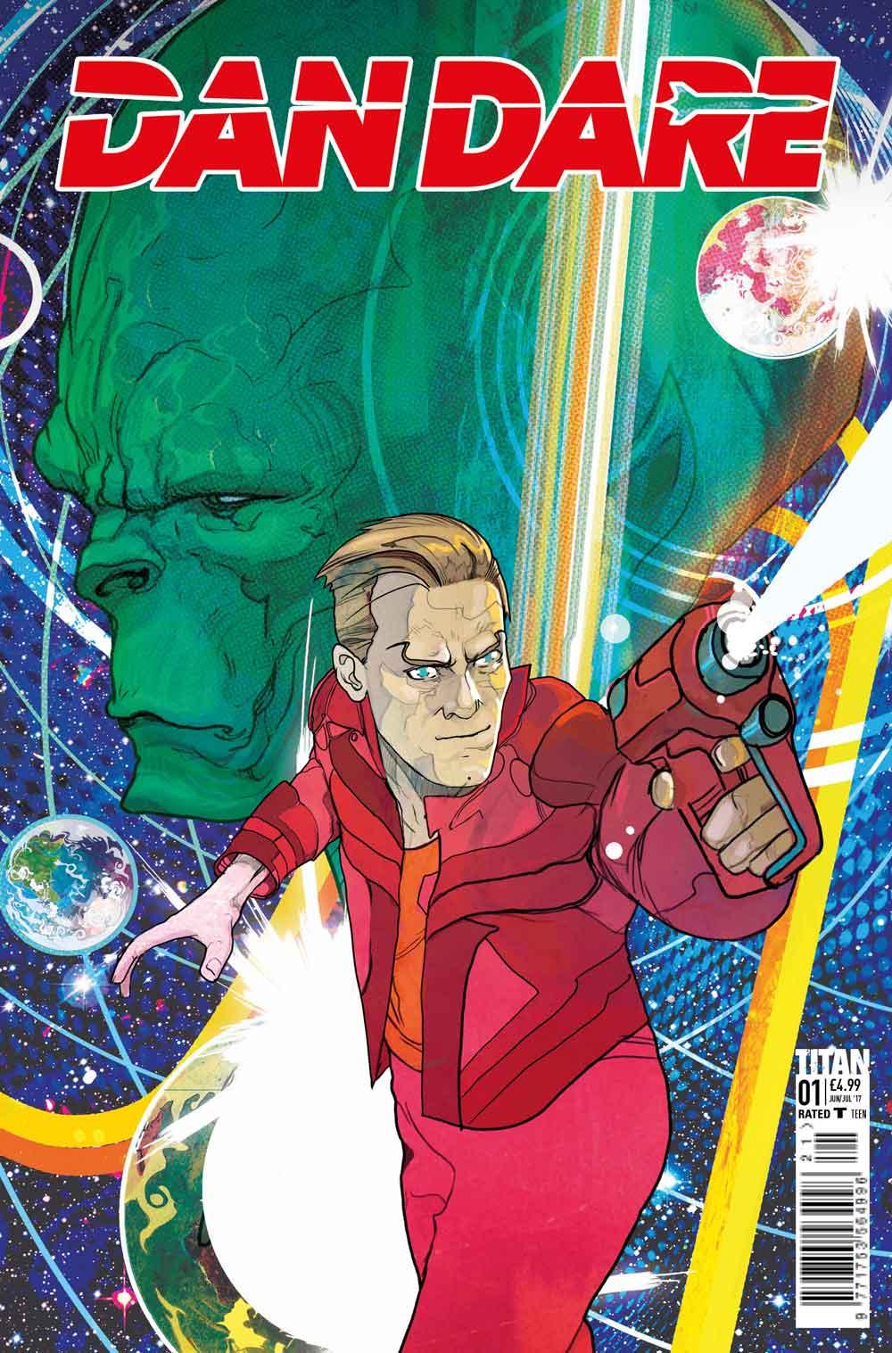 Dan Dare Returns To Comics With Writer Peter MIlligan ...