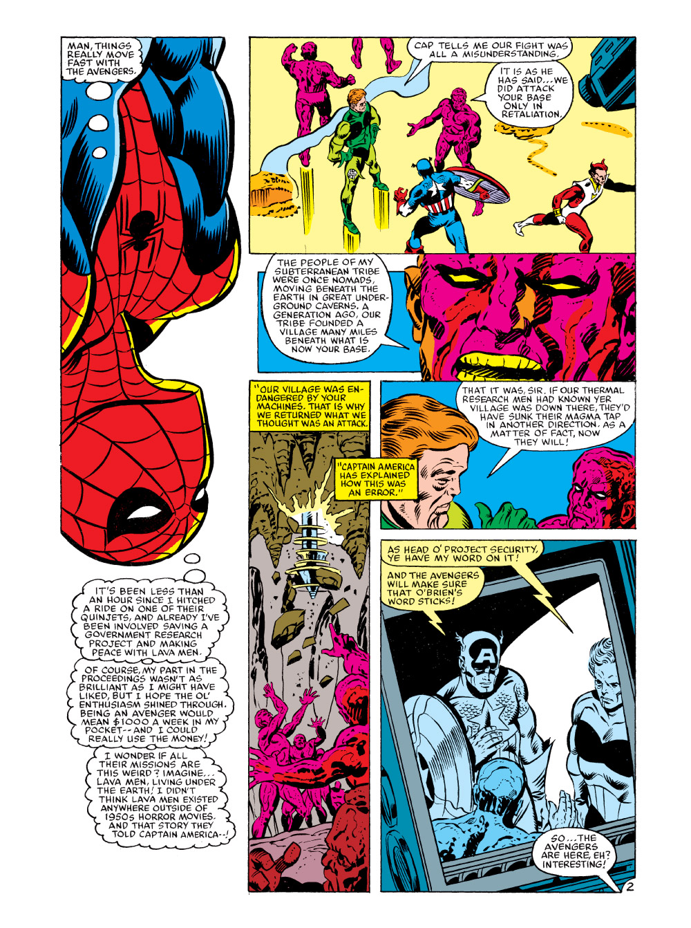 MARVEL COMICS DIGEST #2 THE AVENGERS preview – First ...
