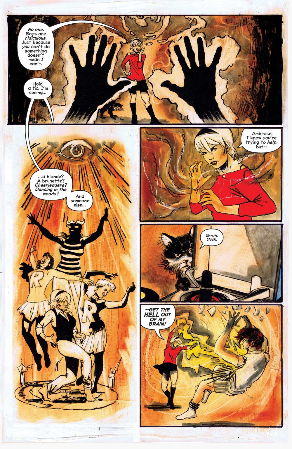 Chilling Adventures Of Sabrina 8 Preview First Comics News