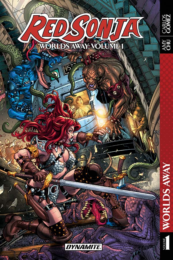 Red Sonja Worlds Away Preview First Comics News