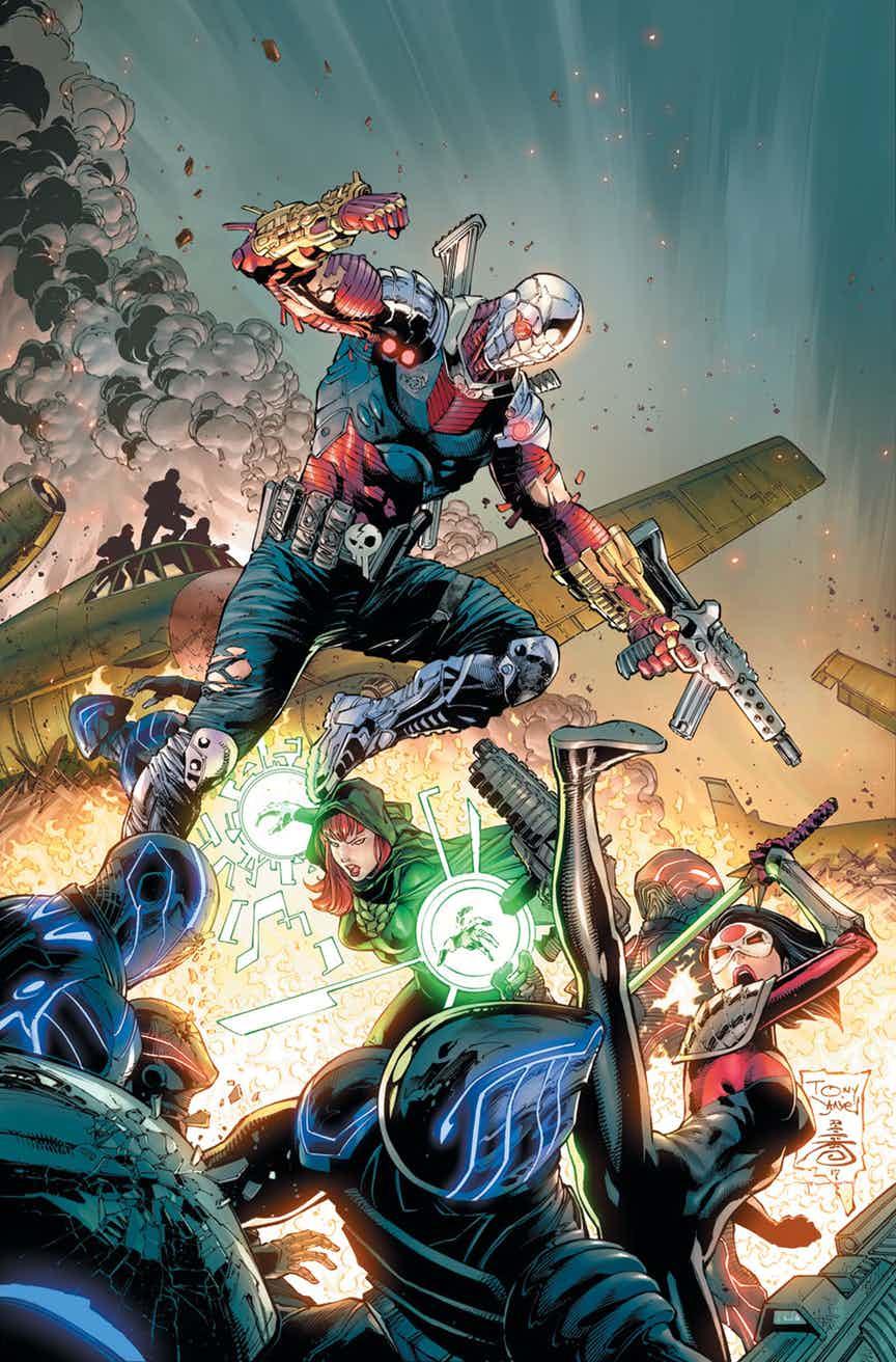 Solicitações: DC Comics USA (Janeiro de 2019 - pág. 02) SSQUADcvrinks028-color-rev