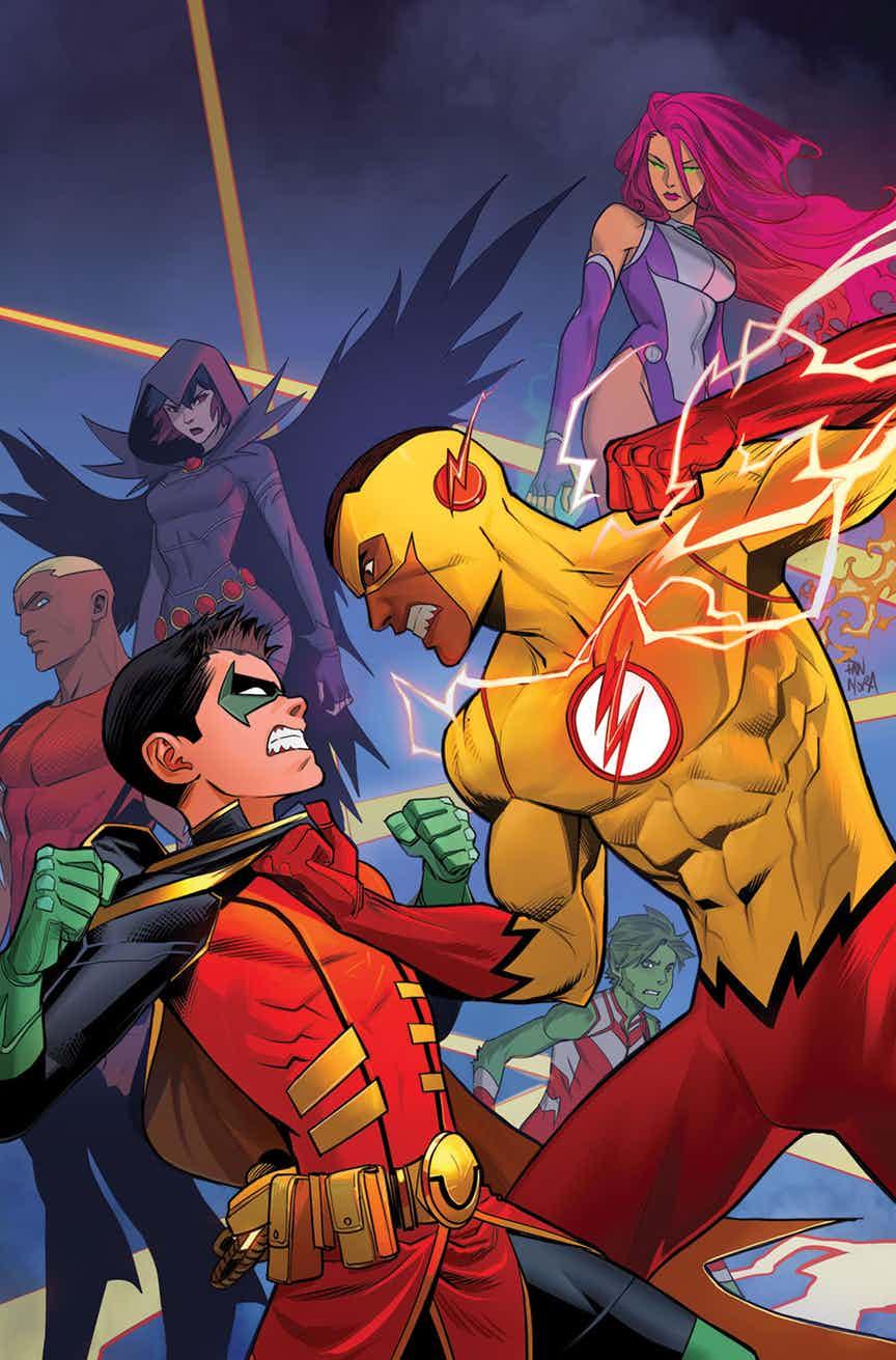 Solicitações: DC Comics USA (Janeiro de 2019 - pág. 02) TEENTITANS-14-COVER