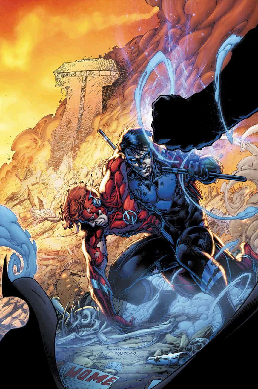Solicitações: DC Comics USA (Janeiro de 2019 - pág. 02) TNS-17-COV-COL