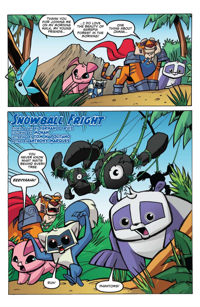 Animal Jam 3 preview First Comics