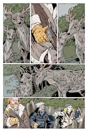 Beaver Damn #1 Interior Page