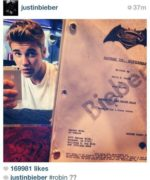 Warner Bros., Batman, Superman, Batfleck, Justin Bieber, One Direction, Robin, Royal Flush Gang