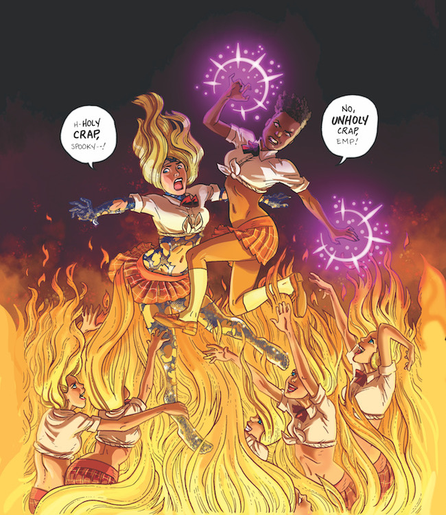 high school is hell for empowered � first comics news