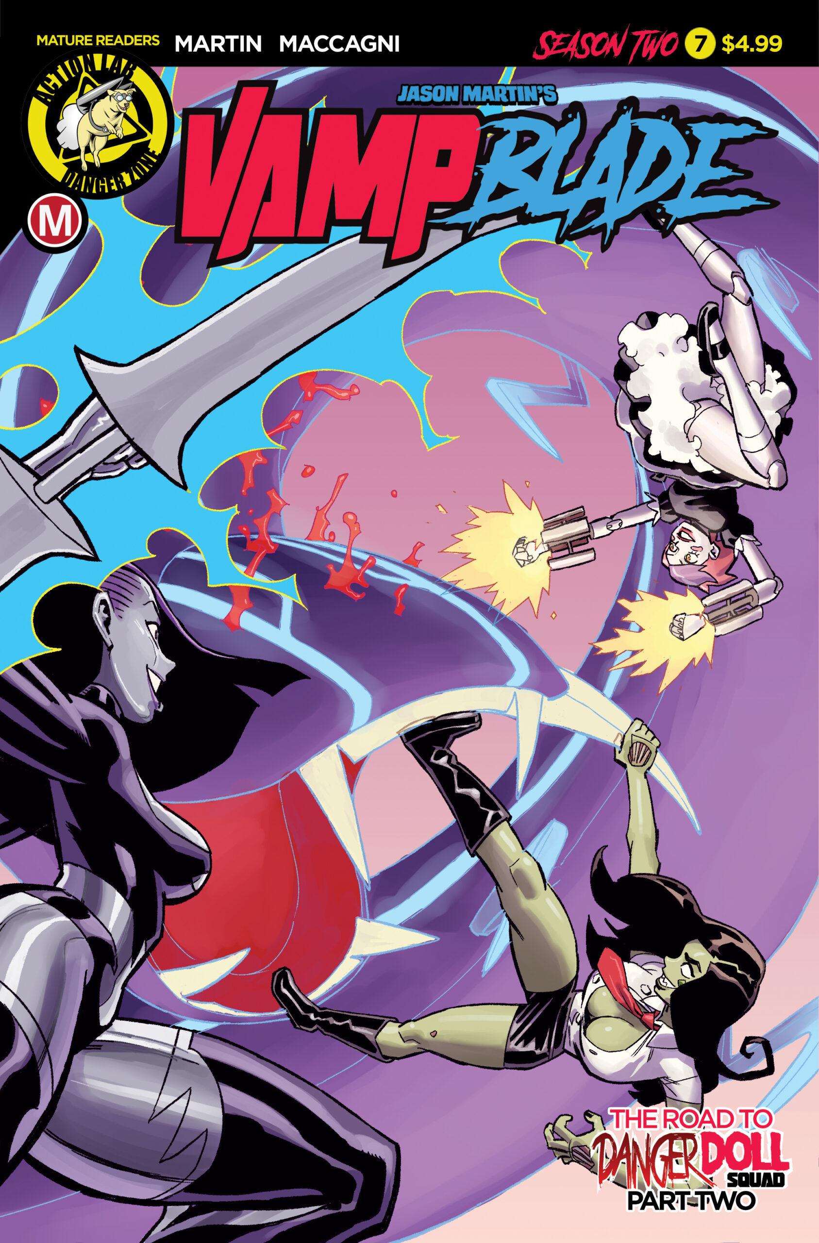 VAMPBLADE SEASON TWO #7 preview – First Comics News