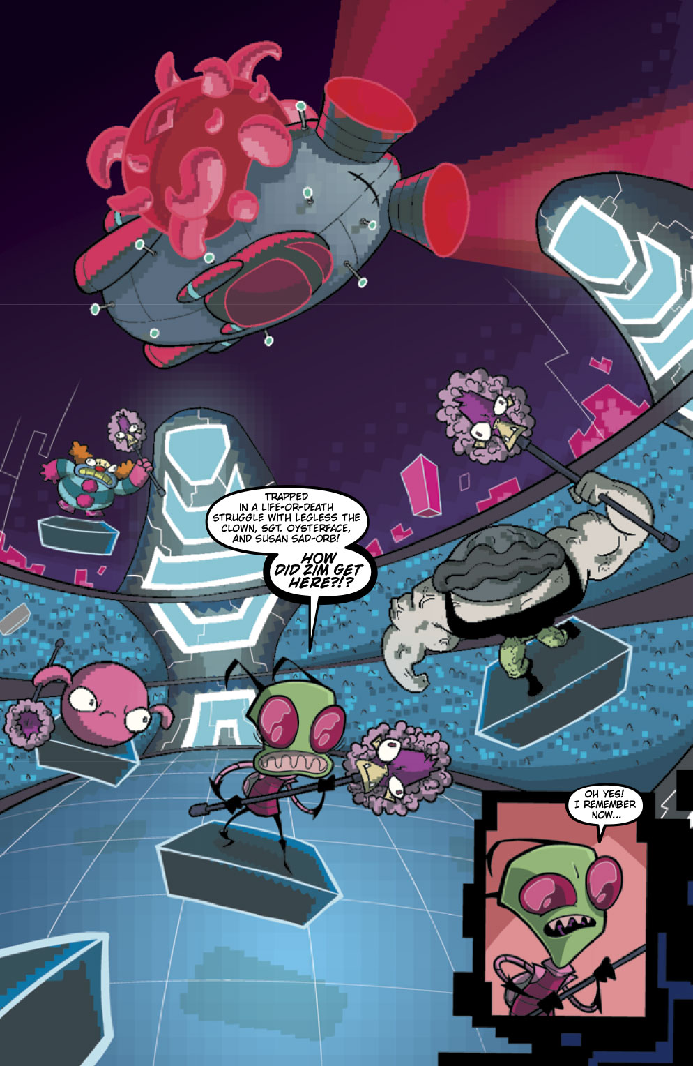 Invader ZIM #23 Preview