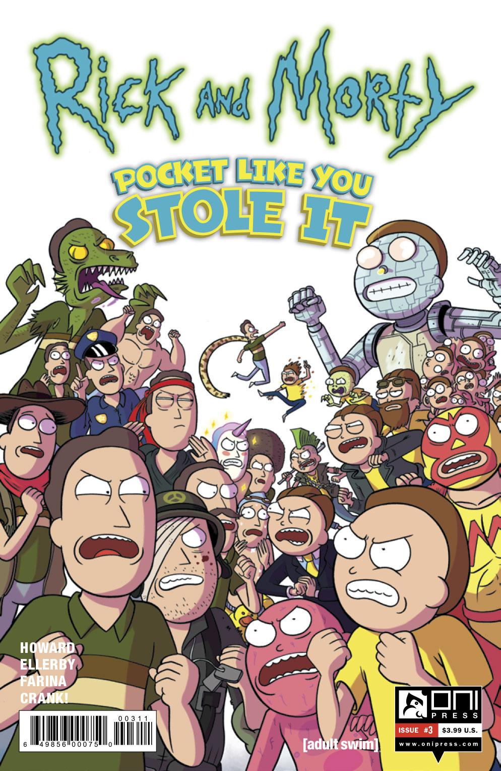 Rick And Morty Comic