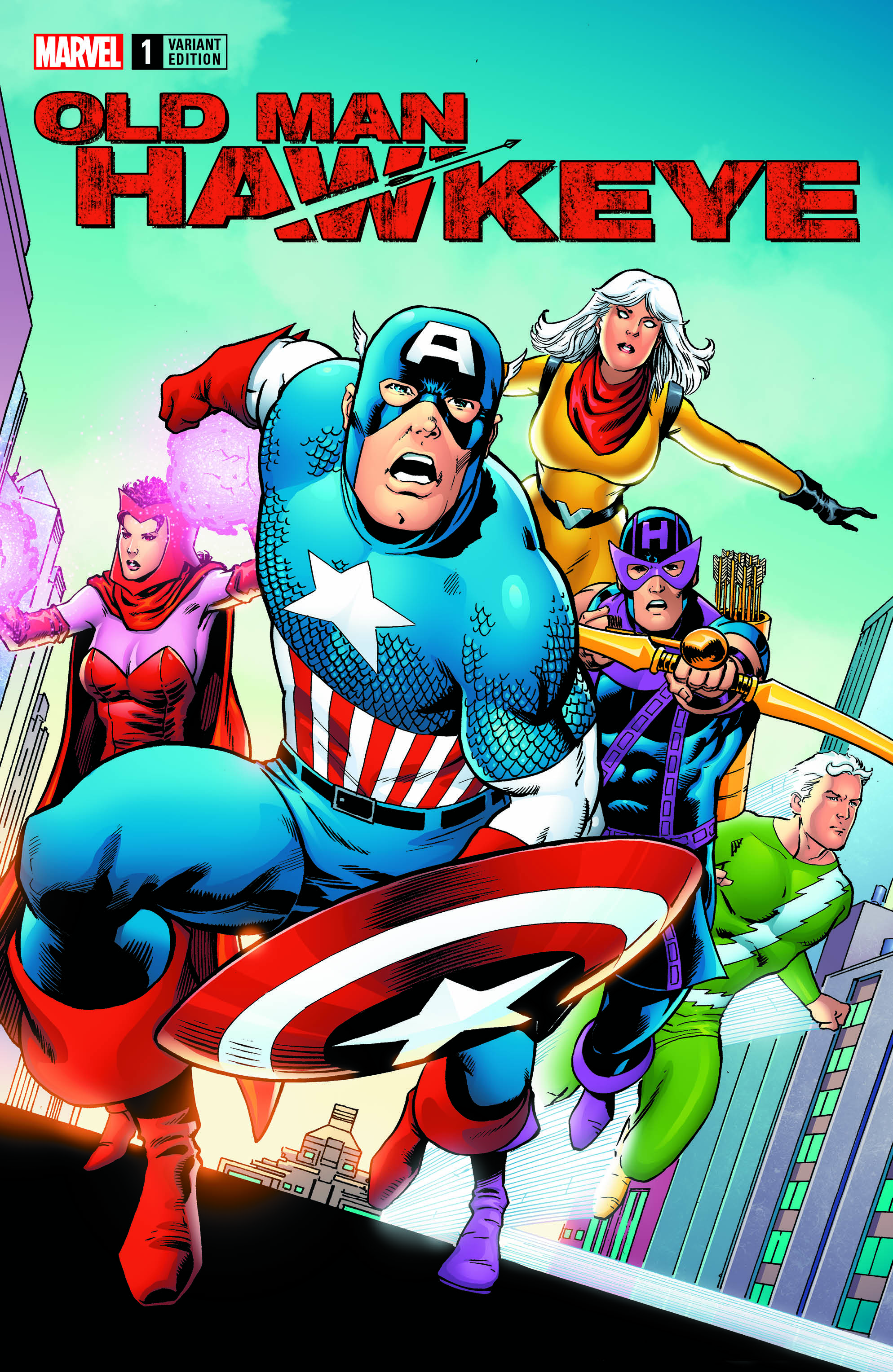 Marvel s avengers variants celebrate earth s mightiest heroes first comics news - Heros avengers ...