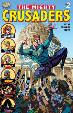 The Mighty Crusaders #2 (Archie) Review – The Shield takes control