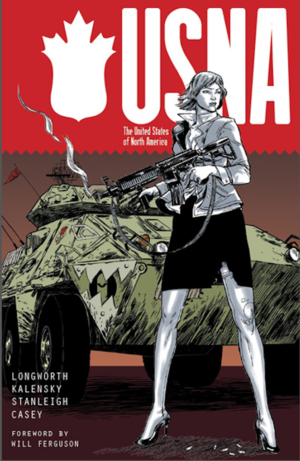 USNA #1 Cover