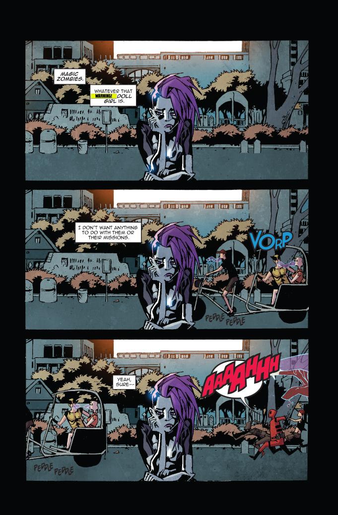 VAMPBLADE SEASON 2 #8 preview – First Comics News