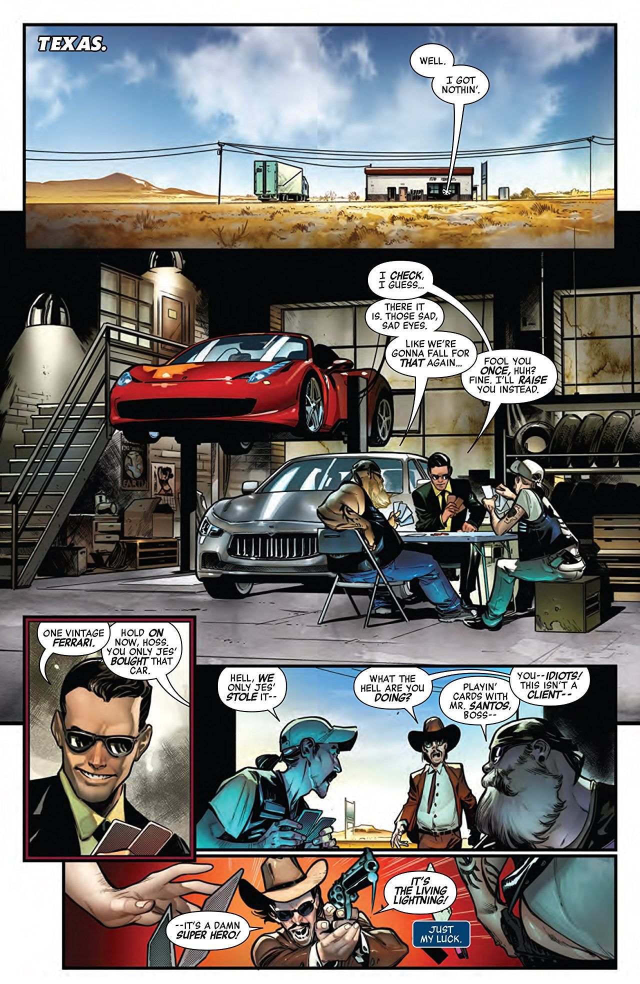 FREE! AVENGERS: NO SURRENDER #675 SPECIAL PREVIEW! – First ...