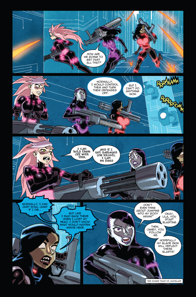 DANGER DOLL SQUAD #3 preview – First Comics News