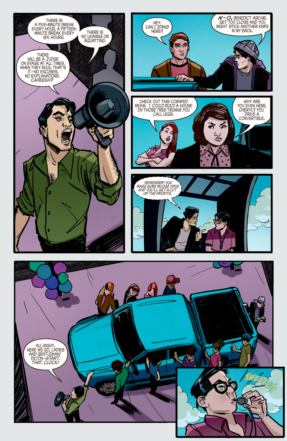 Riverdale 9 Preview First Comics News