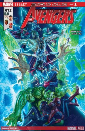 Avengers #675 (Marvel) Review – No planet, no problem!