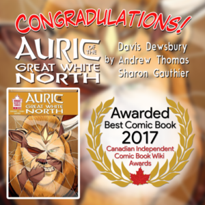 Winner Auric of the Great White North Issue 3