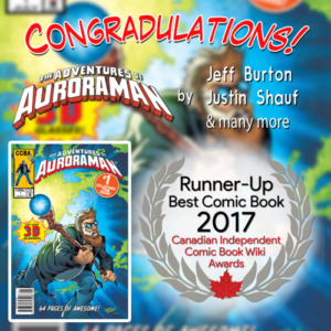 Runner Up Auroraman Issue 1
