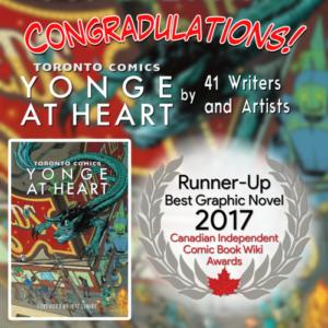 Runner Up Toronto Comics Anthology Yonge at Heart
