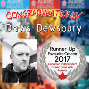 Runner Up Davis Dewsbury
