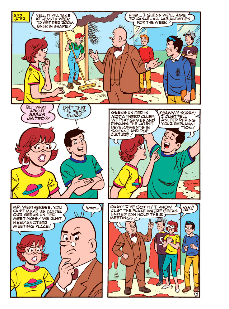 Betty And Veronica Jumbo Comics Digest 260 Preview First Comics News