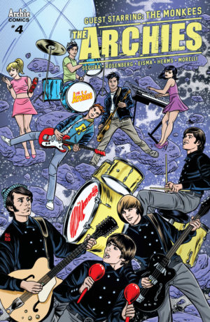 The Archies #4 (Archie) Review – Hey Hey We're Monkees!