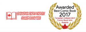 Canadian Independent Comic Book Wiki 2017 Awards