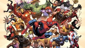 Top 5 Marvel Superheroes