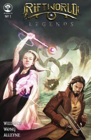 Riftworld Legends #1 Cover