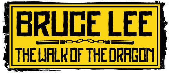 Bruce Lee The Walk of the Dragon Logo