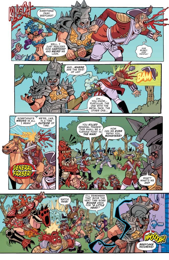 gwar orgasmageddon tp preview � first comics news